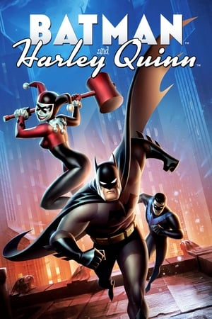 Poster Movie Batman and Harley Quinn 2017