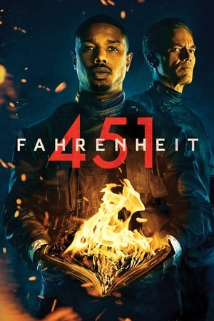 Poster Movie Fahrenheit 451 2018