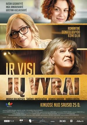 Poster Movie Ir visi jų vyrai 2019