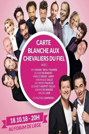 Poster Movie Festival International du Rire de Liège 2018 - Carte Blanche Aux Chevaliers Du Fiel 2019