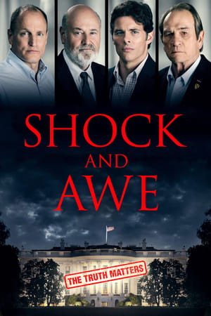 Poster Movie Shock and Awe 2018