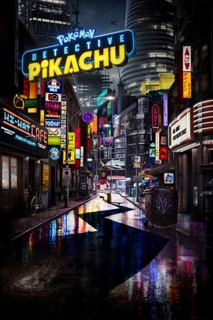 Poster Movie Pokémon: Detective Pikachu 2019