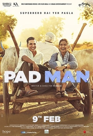 Poster Movie Padman 2018