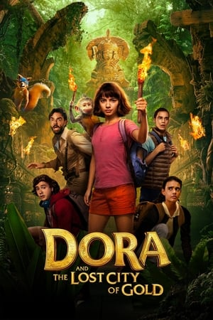 Poster Movie Dora and the Lost City of Gold 2019