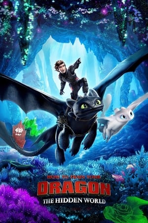 Poster Movie How to Train Your Dragon: The Hidden World 2019