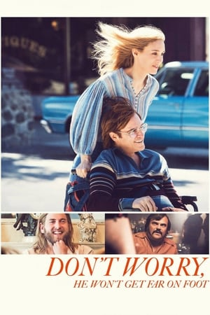Poster Movie Don't Worry, He Won't Get Far on Foot 2018