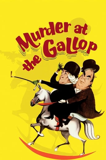 Murder at the Gallop video