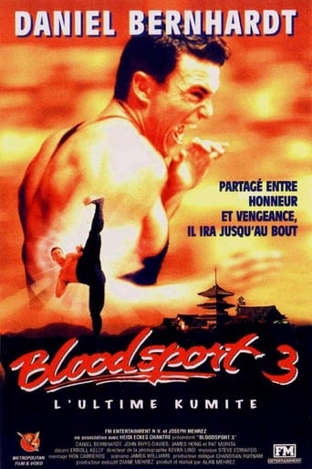 Bloodsport 3, L'Ultime Kumite