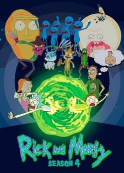 Rick e Morty 4ª Temporada - Poster