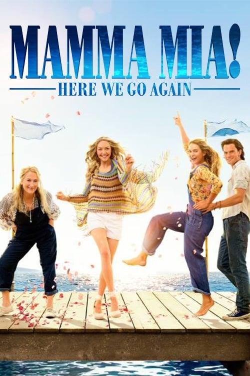 Mamma Mia Here We Go Again Streaming : mamma, again, streaming, Watch, NOW!!, Mamma, Again!, (2018), Meryl, Streep, James, Amanda, Seyfried, Movie, Movies