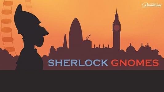 Backdrop Movie Sherlock Gnomes 2018