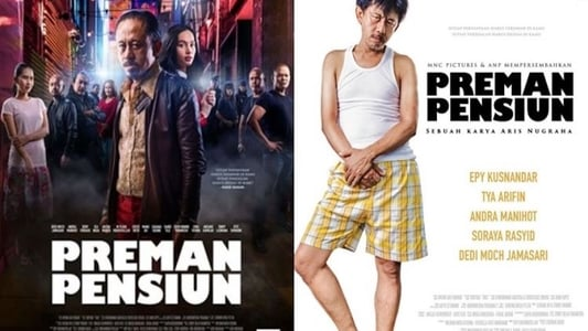 Backdrop Movie Preman Pensiun 2019