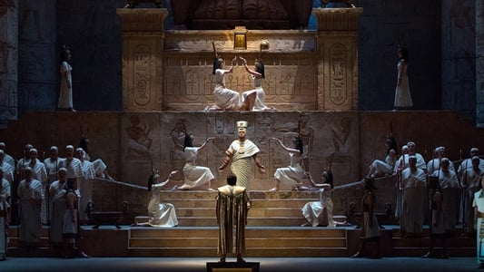 Backdrop Movie Aida - Met Opera Live 2018