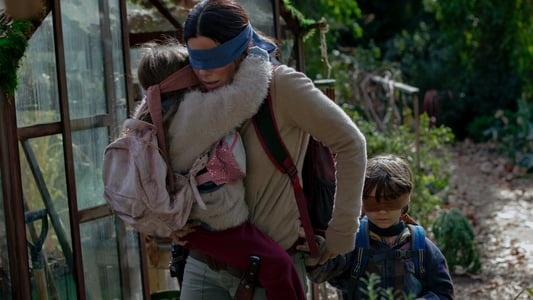 Backdrop Movie Bird Box 2018