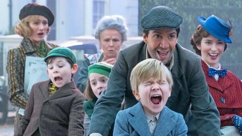 Backdrop Movie Mary Poppins Returns 2018