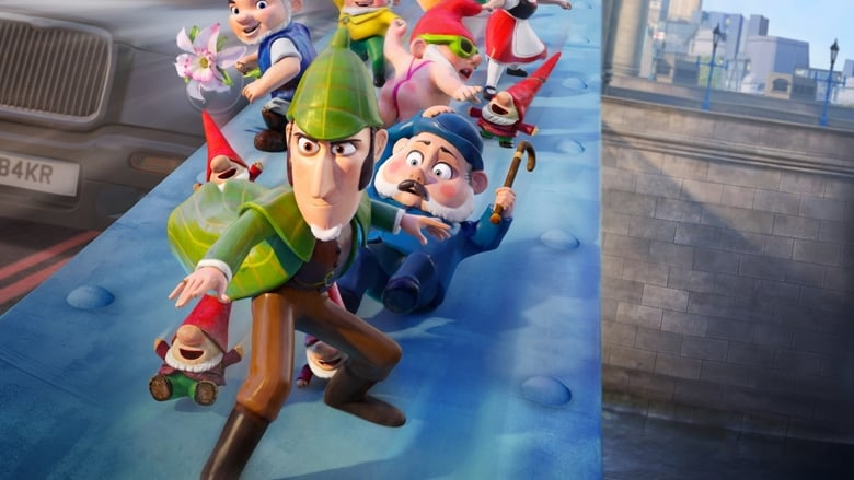 Backdrop Movie Sherlock Gnomes 2018