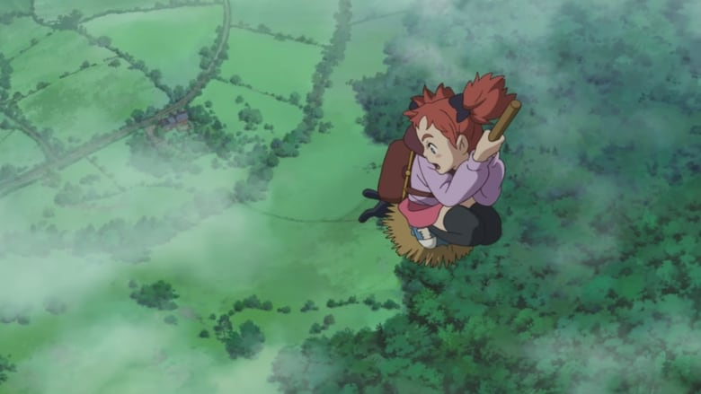 Backdrop Movie Mary and the Witch's Flower 2017