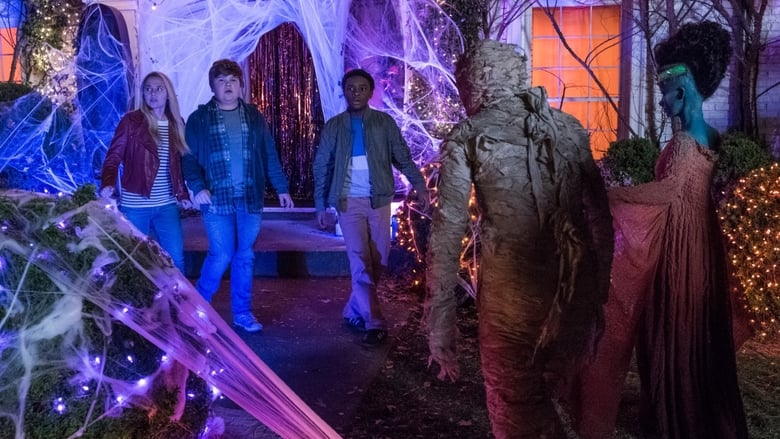 Backdrop Movie Goosebumps 2: Haunted Halloween 2018