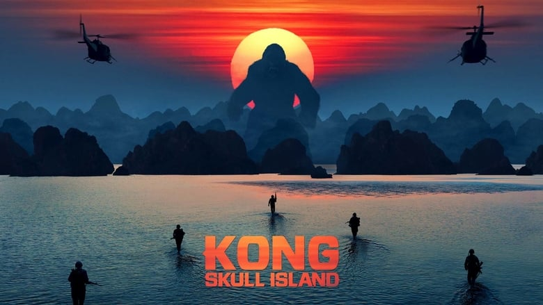Backdrop Movie Kong: Skull Island 2017