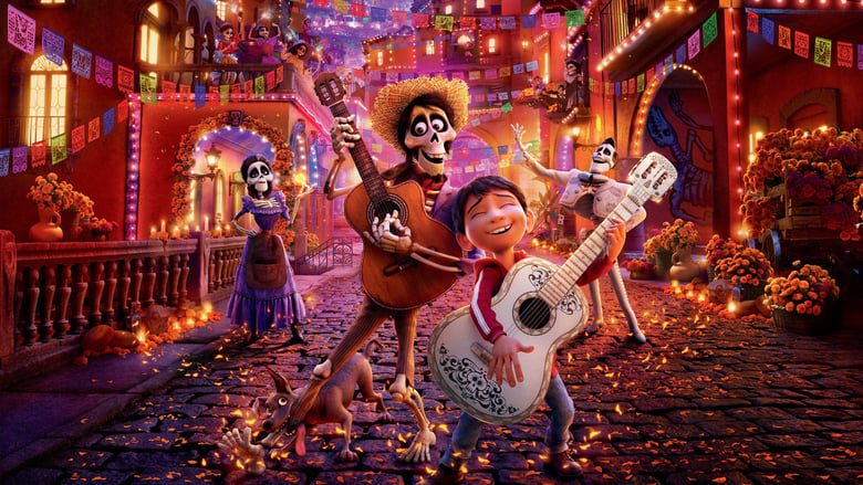 Backdrop Movie Coco 2017