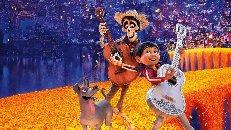Backdrop Movie Coco 2017