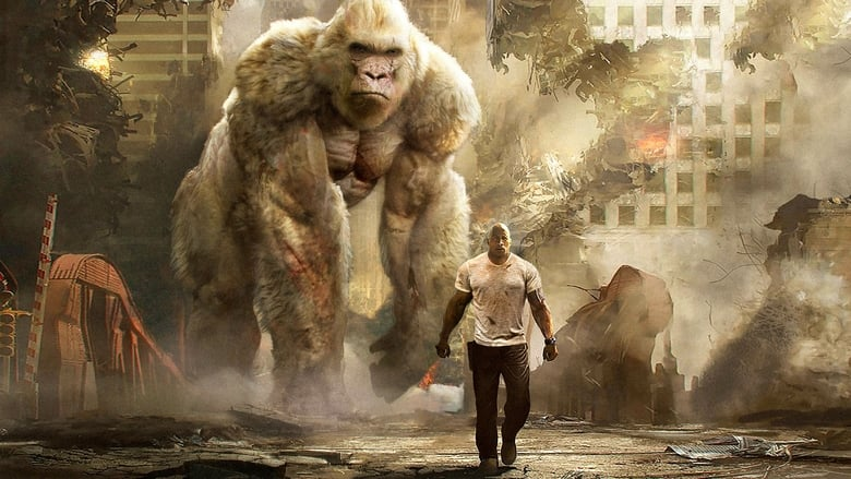 Backdrop Movie Rampage 2018