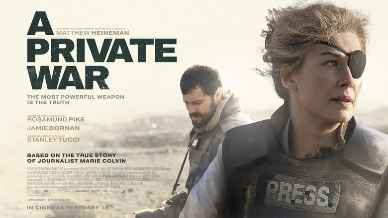 Backdrop Movie A Private War 2018