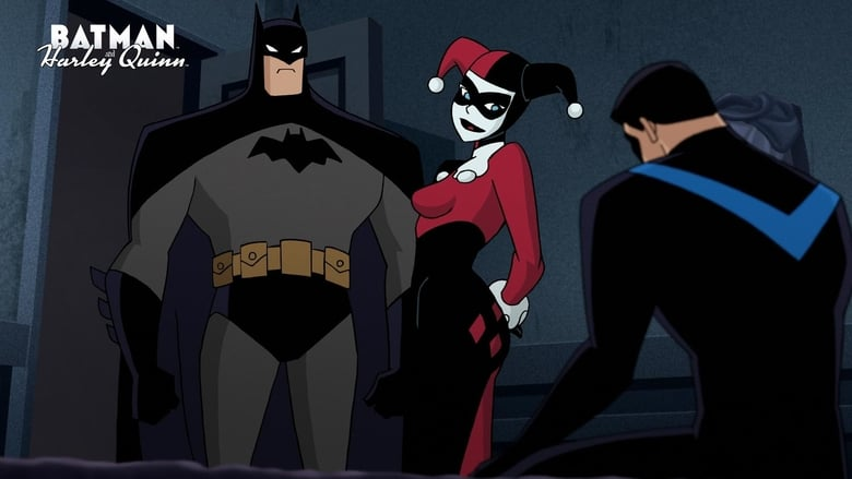Backdrop Movie Batman and Harley Quinn 2017