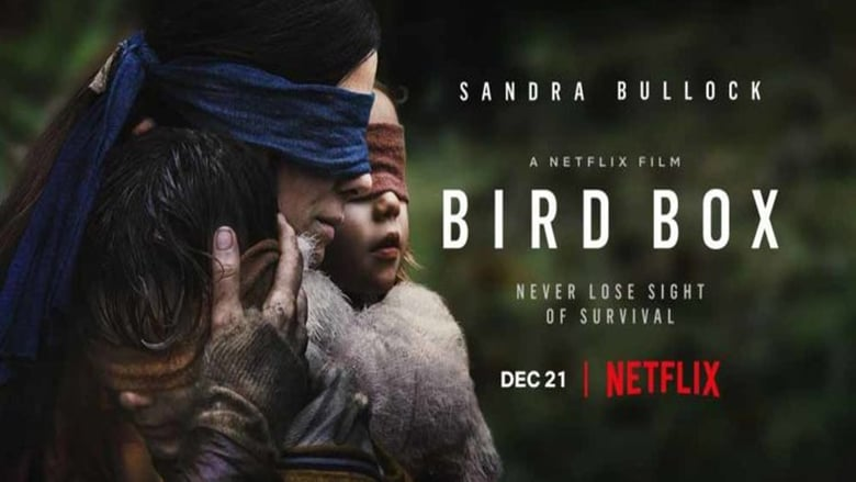 Backdrop Movie Bird Box 2018
