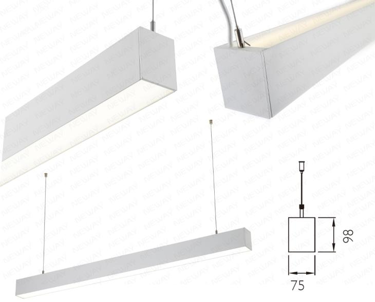 22w 90w direct indirect linear led lamps linear led light fixtures led linear lighting direct indirect direct indirect linear led fixture linear fluorescent lamp direct indirect manufacturer supplier factory neway lighting int l co ltd