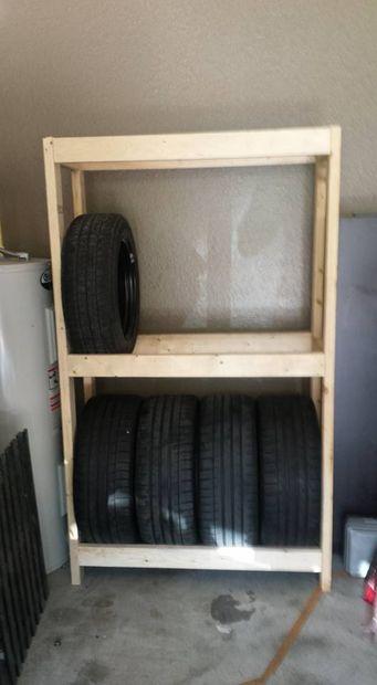 support de pneu de budget bricolage ou
