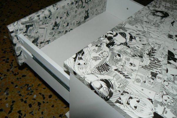 Tables De Chevet De Manga Tape 3 Travail De Fin