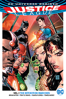 Justice League Rebirth Vol 1