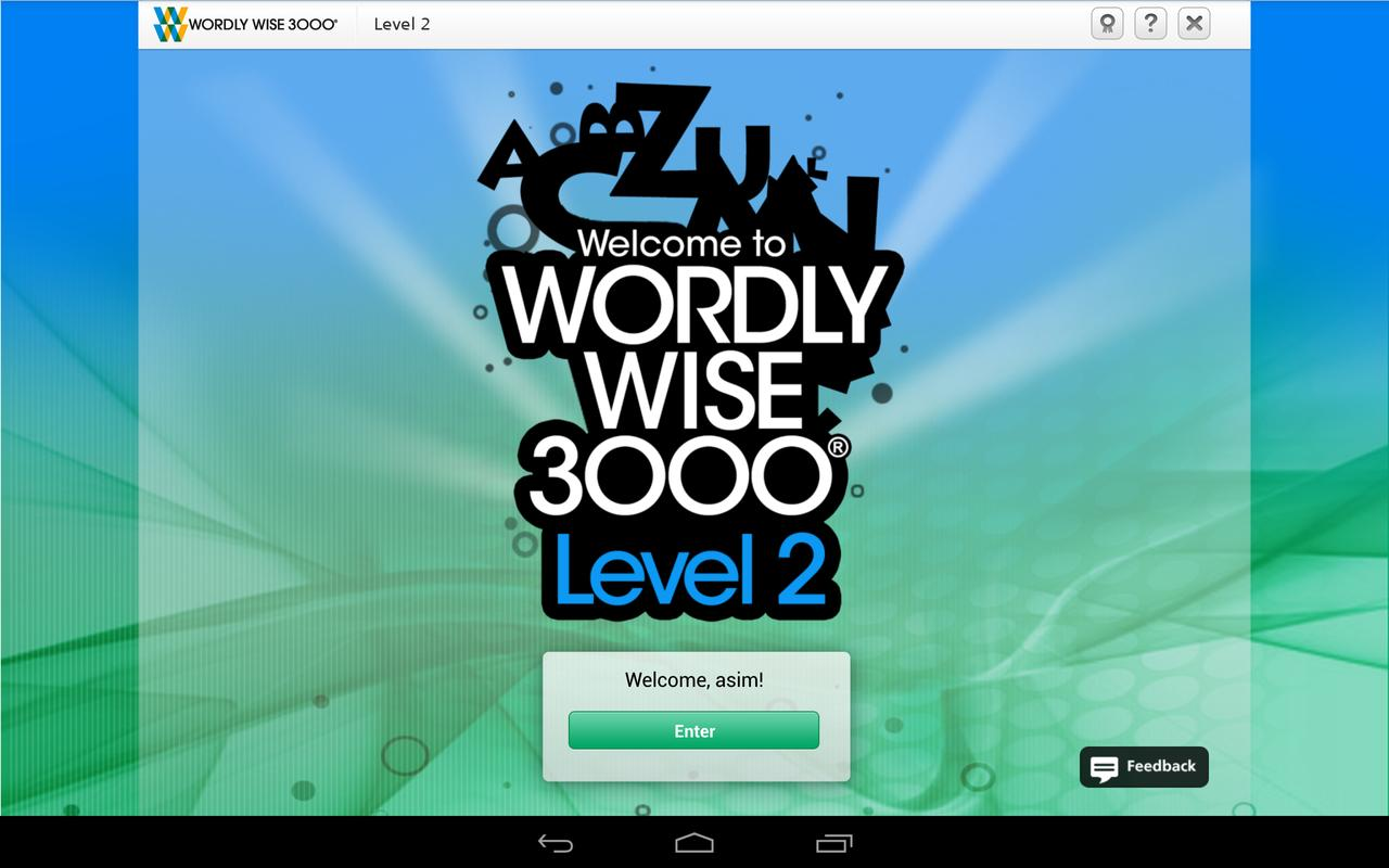 Wordly Wise Online Apk Download