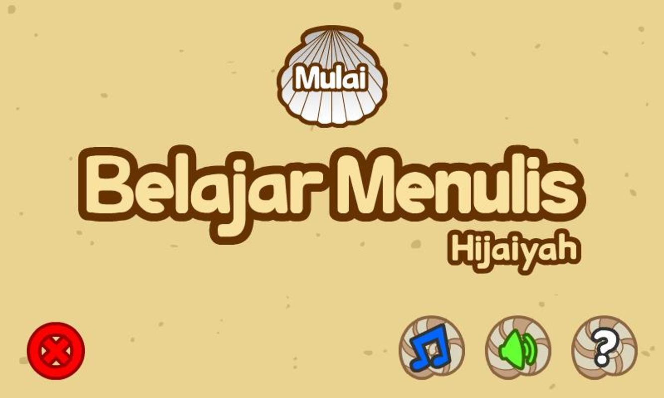 Belajar Menulis Hijaiyah Apk Download