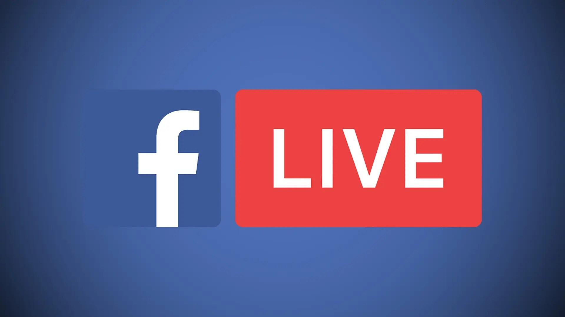 Resultado de imagen para facebook live