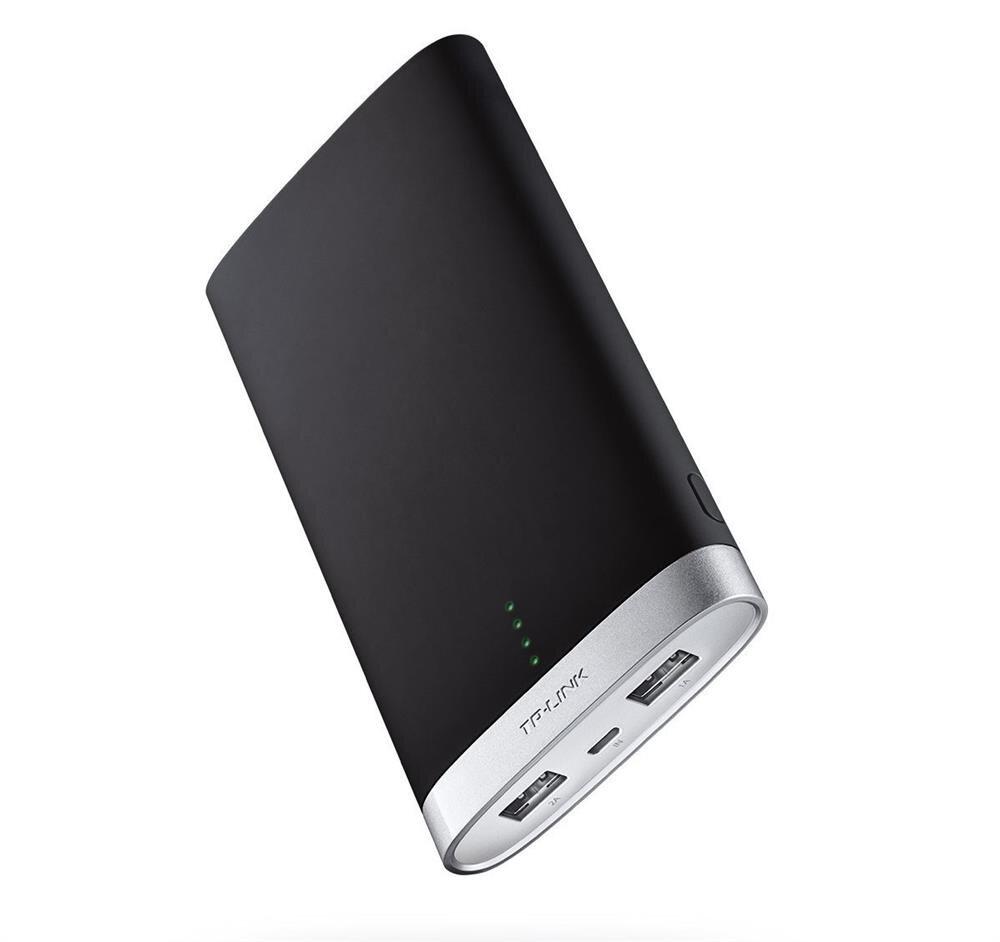 10.000 mAh'lik bu powerbank'in çıkış gücü 2A. Aynı anda iki cihazı şarj etmeye imkan sağlayan ürünün fiyatı 120 lira. TP-Link'in bu powerbank'i şık tasarımıyla da dikkat çekiyor.n