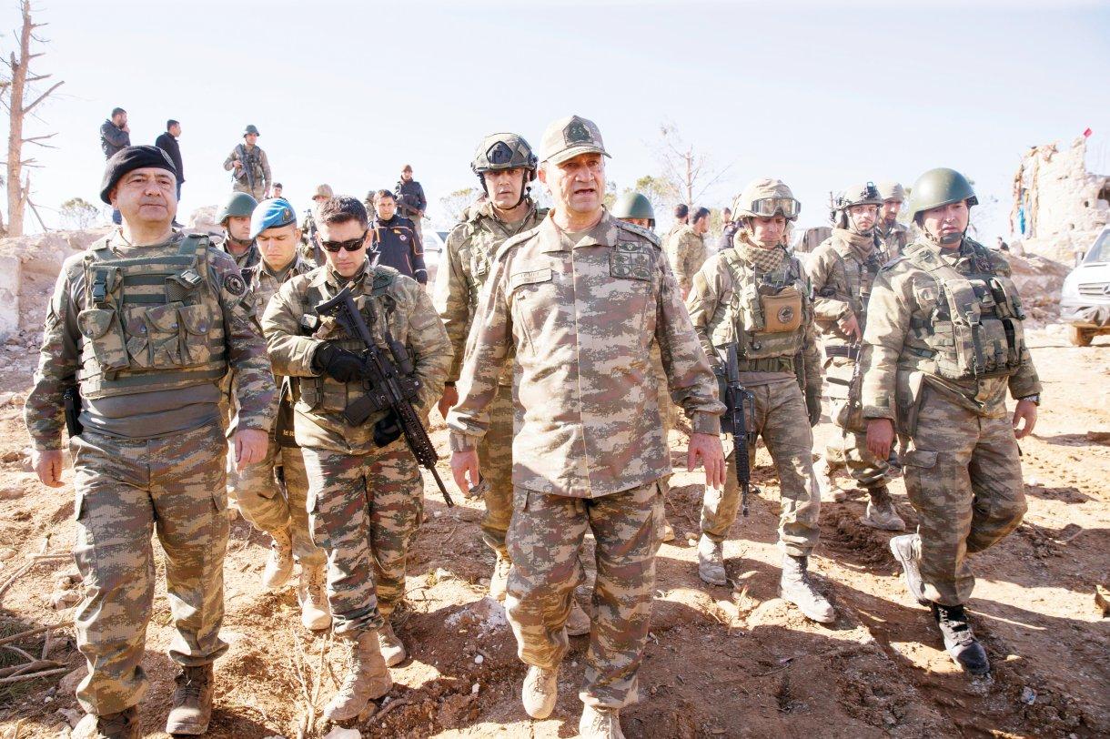 قائد الجيش التركي الثاني الجنرال إسماعيل متين تمل