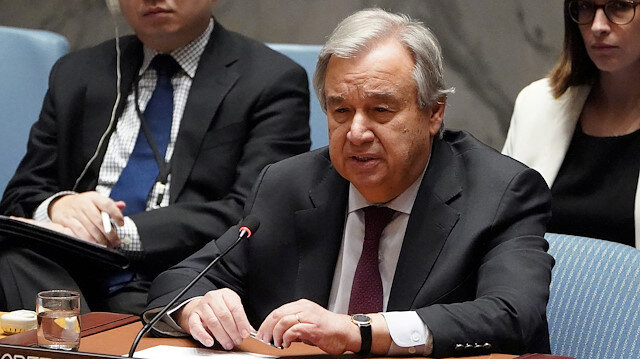Secretary General of the United Nations Antonio Guterres