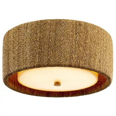 bimini two light flush mount ceiling light