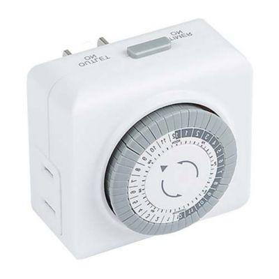 mechanical timer for landscape magnetic transformer