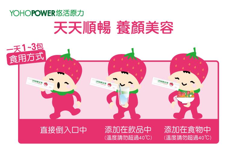 LP28敏立清益生菌 -草莓多多
