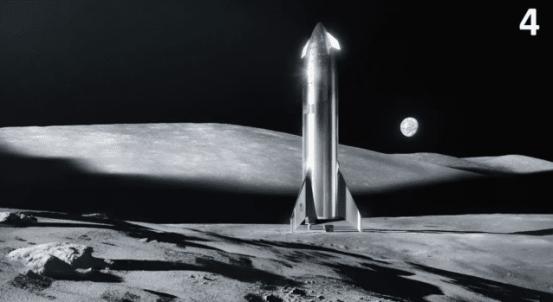 머스크는 베조스를 이기고 NASA의 달 탐사 파트너가되었습니다.