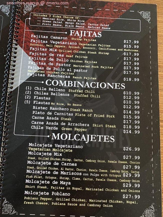 A foil stamping print by deanne warnholtz wortman. Online Menu of Los Molcajetes Bar & Grill Restaurant