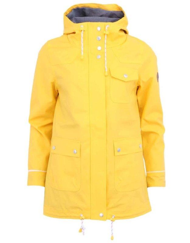 6d960727073 Žlutá dámská bunda pláštěnka Bellfield Alexandra (90567) od ZOOT