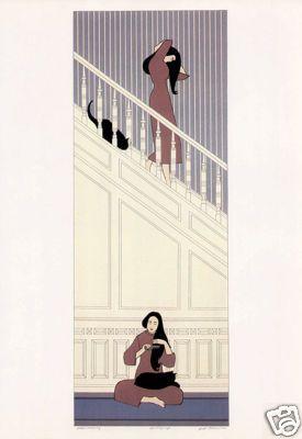 Will Barnet White Stairs