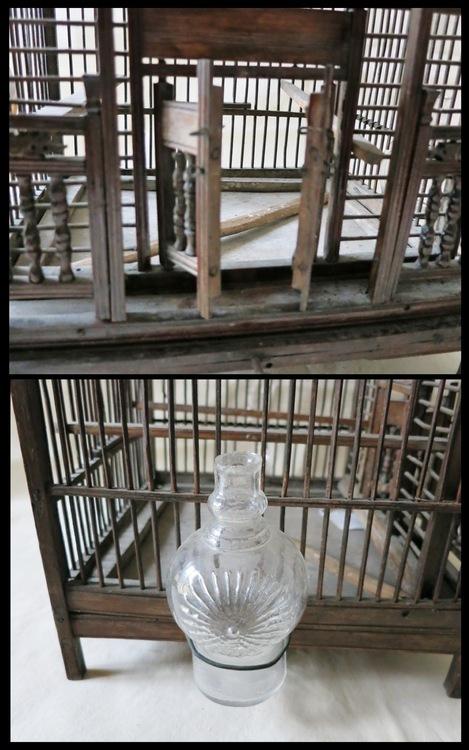 chinesischer Vogelkaefig