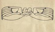 art nouveau drawing