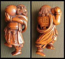 antique Chinese toggle