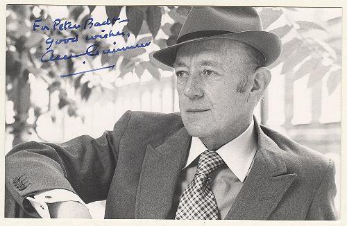Sir Alec Guiness Autograph